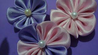Flores de tecido – Aprender à fazer flor Linda Parte 1 por Arte & Acessórios