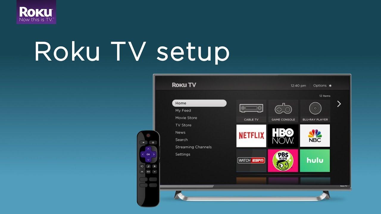 How to set up a Roku TV  YouTube