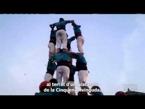 Castellers de Vilafranca a la NBC [sub cat]