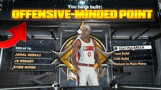 "THE ONLY LEGEND ""OFFENSIVE-MINDED POINT"" BUILD ON NBA2K20(ULTRA RARE)"