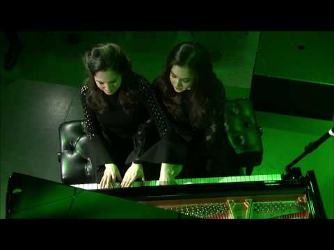 2019 Career Grant recipients Christina & Michelle Naughton, piano duo (Nancarrow)