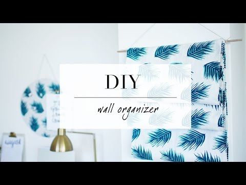Diy Hanging Magazine/wall Organizer Decor  Ann Le