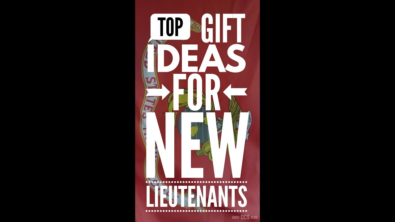 Top 3 Gift Suggestions for New Marine Corps Lieutenants  sc 1 st  YouTube & Top 3 Gift Suggestions for New Marine Corps Lieutenants - YouTube