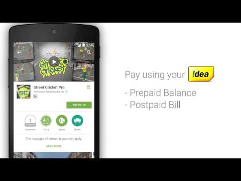 Direct Operator Billing for Google Play