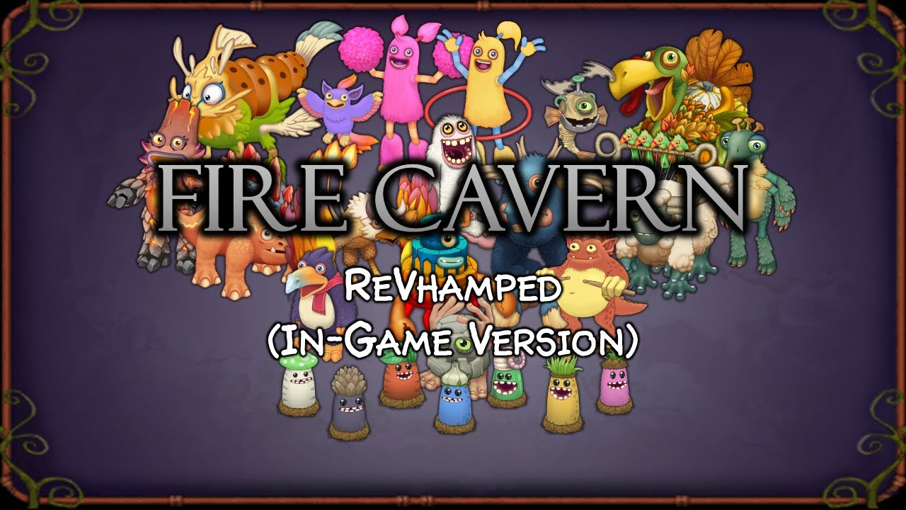 Fire Cavern ReVhamped (In-Game Version)