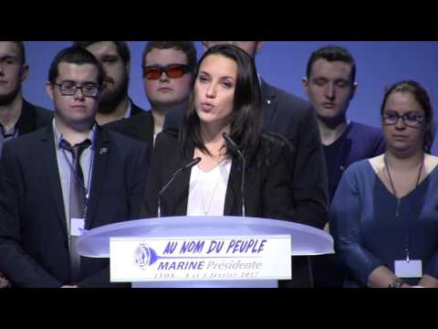 Table ronde du Front National de la jeunesses. (Assises Présidentielles 2017)