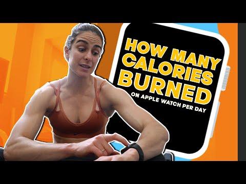 My CALORIES burned on apple watch per day. IFBB BIkini Prep 2020