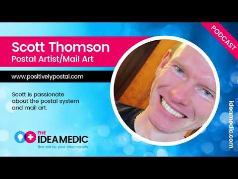 Ep 2. Postal Artist Scott Thomson Talks Mail Art and Creativity