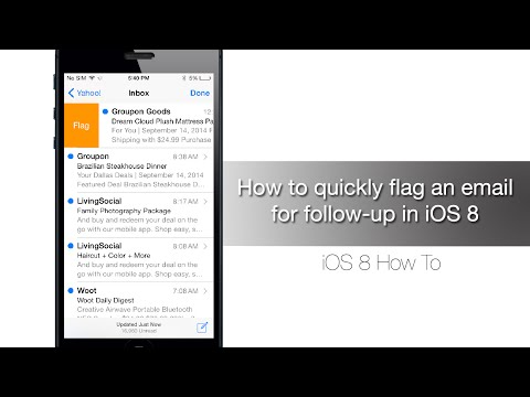 How to quickly flag an email for follow-up in iOS 8 - iPhone Hacks
