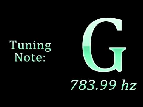 Tuning Note: G