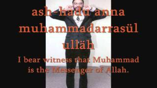 Adhan,  the call to Formal Islamic worship.