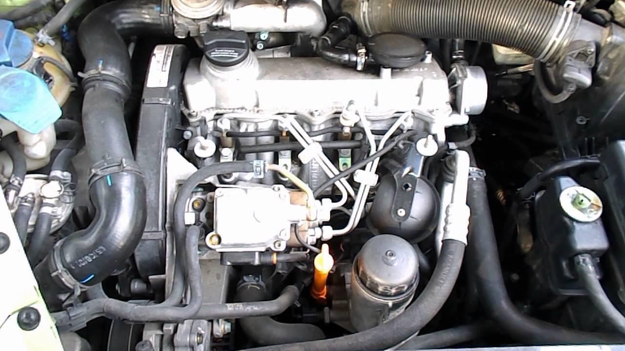 Двигател за Volkswagen New Beetle 1.9 TDI, 90 к.с., 2001 г ...