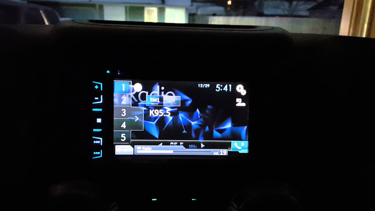 2012 Jeep Pioneer AVH-X2700BS installed - YouTube