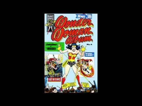 Wonder Woman Australian Covers Bronze Age