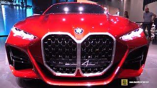 BMW Concept 4 - Exterior Walkaround - Debut at 2019 Frankfurt Motor Show