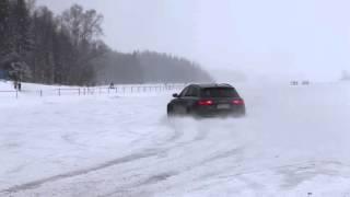 audi rs6 c7 audi a5 3 0 tdi launch on snow