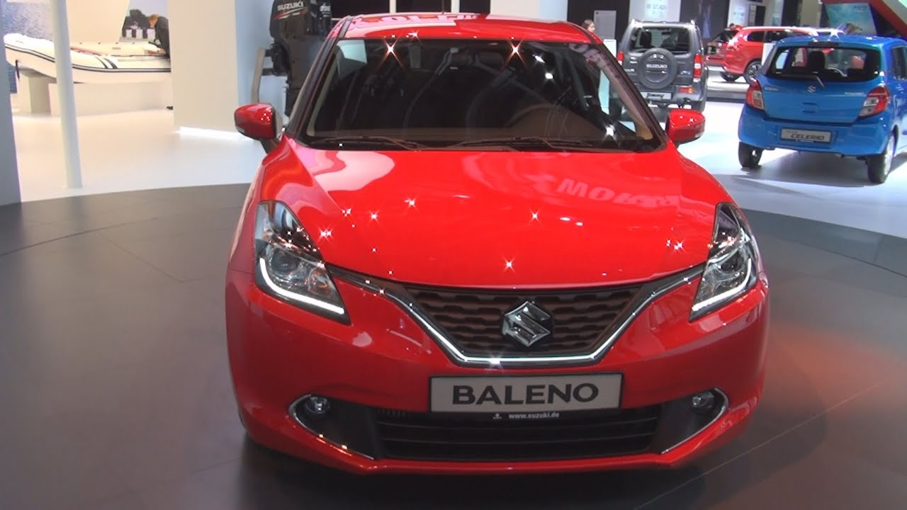 suzuki baleno m t 2016 exterior and interior in 3d youtube. Black Bedroom Furniture Sets. Home Design Ideas