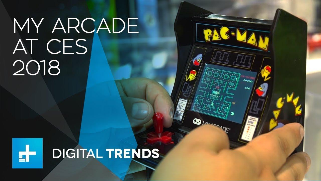 """My Arcade"" Mini Retro Gaming Console at CES 2018"