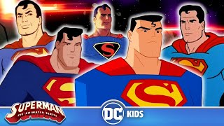 An Animated History of Superman Evolution | 80 Years Of Superman | DC Kids