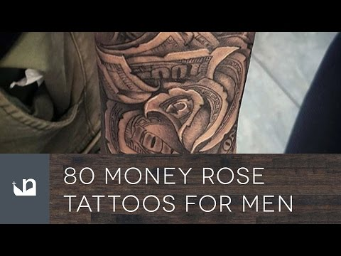 80 Money Rose Tattoos For Men