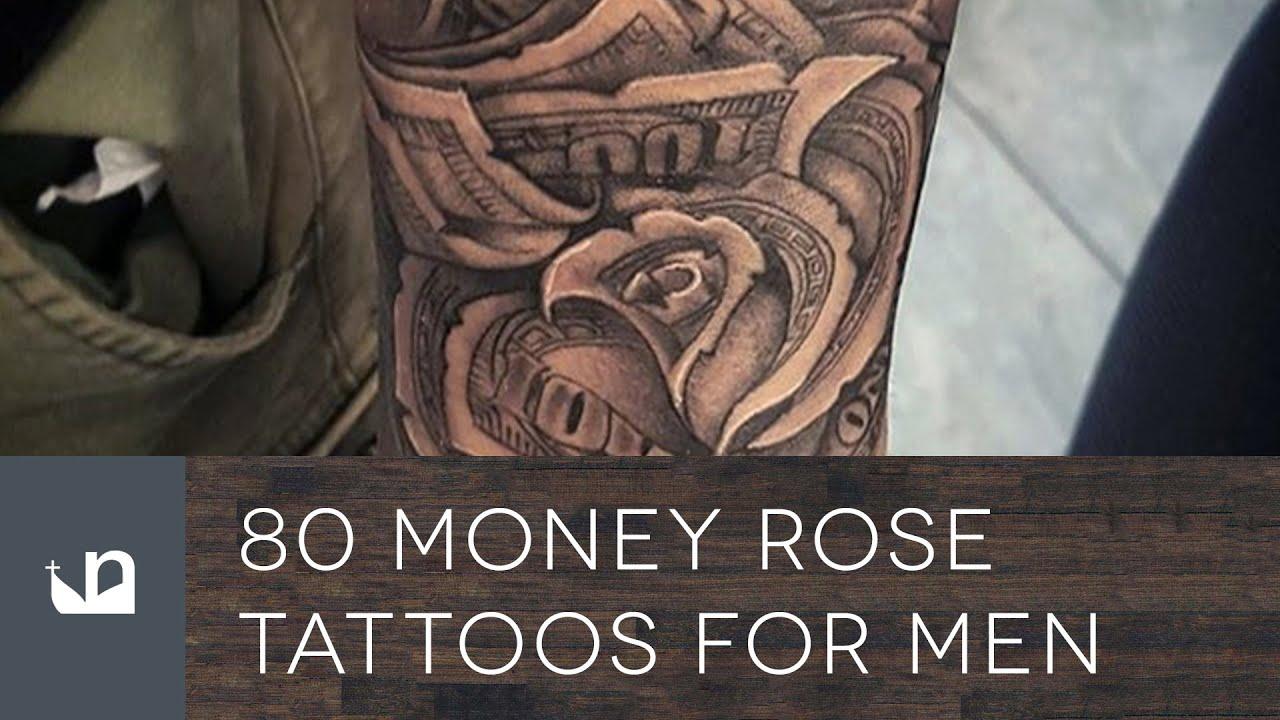 80 Money Rose Tattoos For Men - YouTube