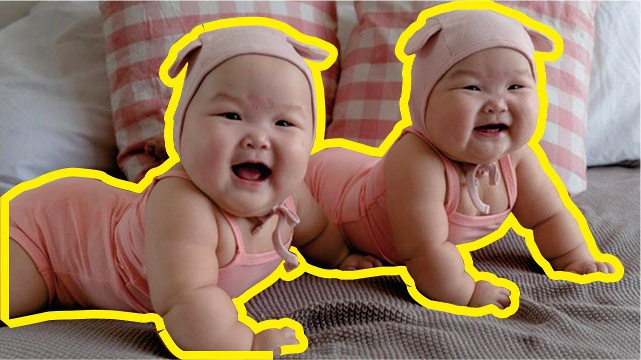 Anak Bayi Kembar Lucu Bermain Bersama Kompilasi Hd Youtube