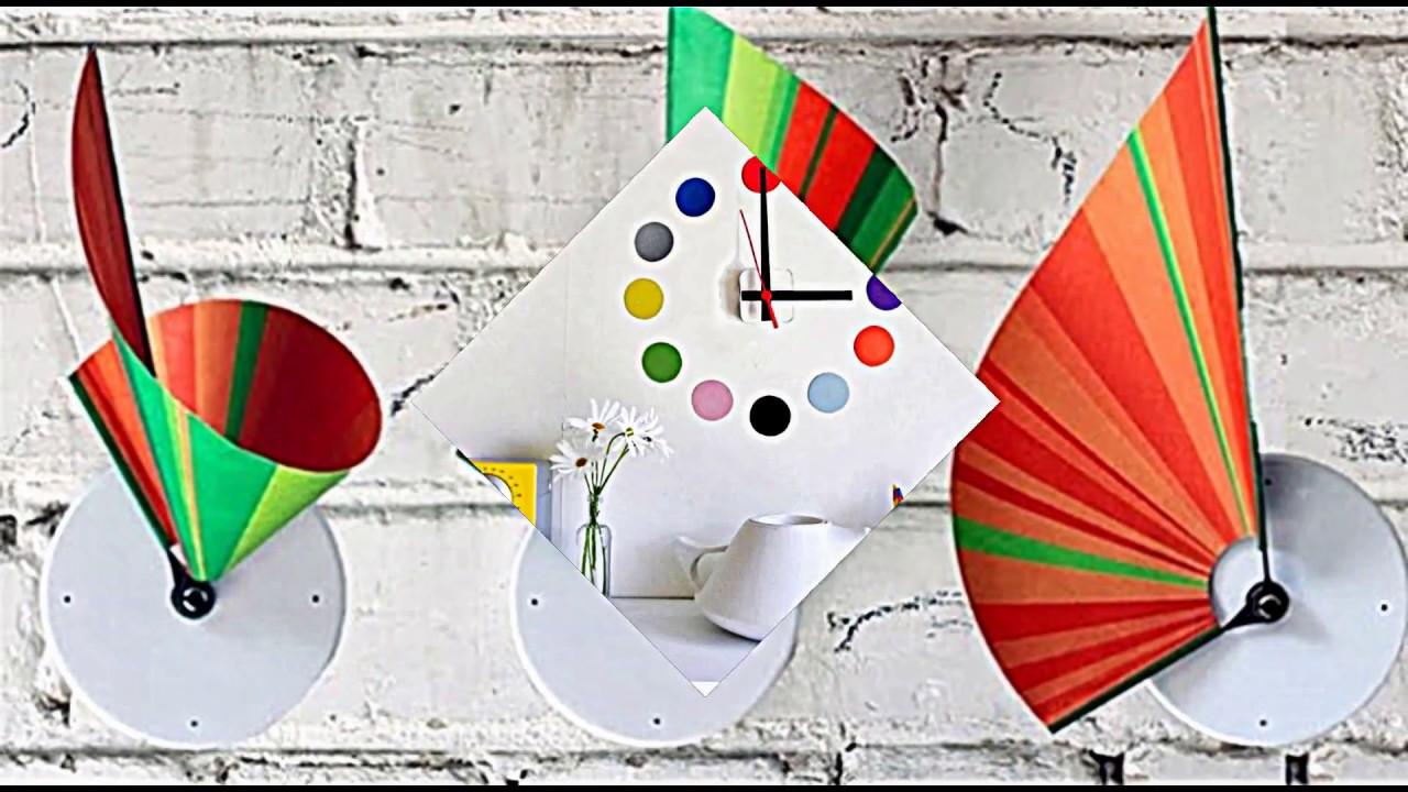 Wanduhr Design  kreative Ideen fr moderne