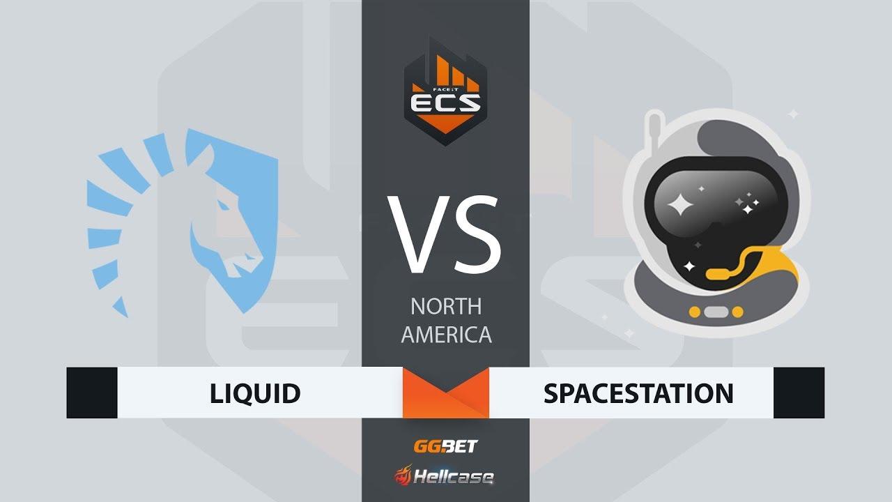[RU] Liquid vs Spacestation | Map 1 – Overpass | ECS Season 7 North America