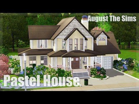 The Sims 3 - Speed Build | Пастельный Дом