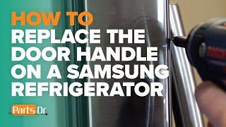 How to replace the door handle…