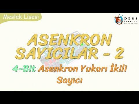 ASENKRON SAYICILAR - 2 / 4 BİT ASENKRON YUKARI İKİLİ SAYICI