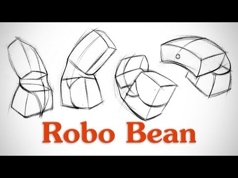 How to Draw Structure in the Body - Robo Bean