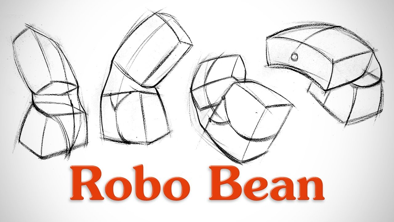How To Draw Structure In The Body Robo Bean