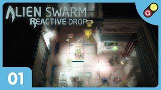 GG - Alien Swarm : Reactive Drop  - Let's Play #01 Technicien bas débit [FR]