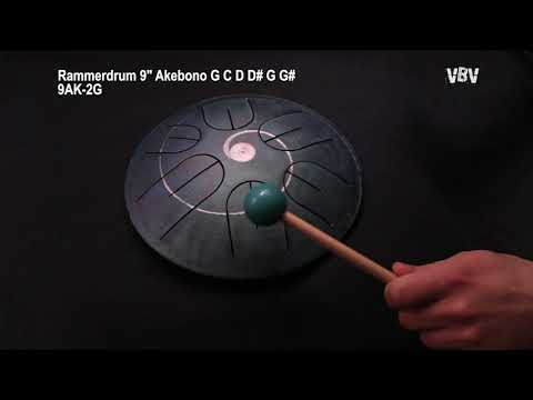 "Tongue Drum 9"" Akebono 2d Generation video"