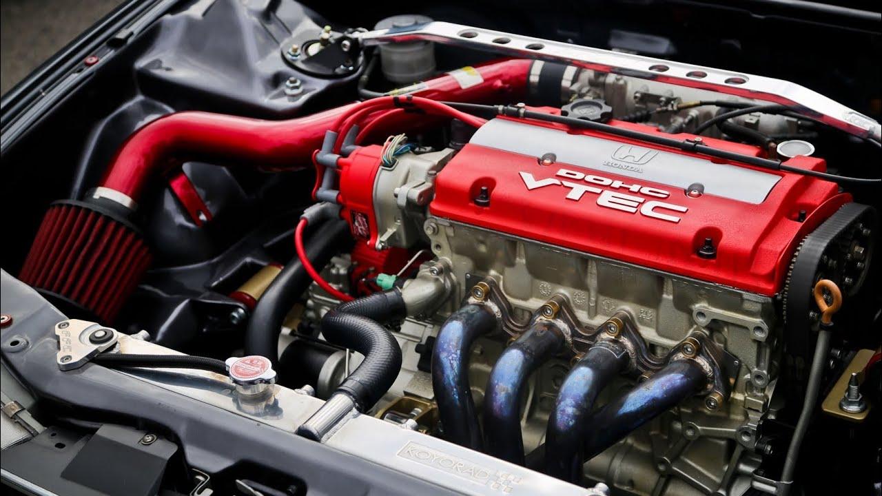 1992 Honda Accord Coupe H22A VTEC - YouTube
