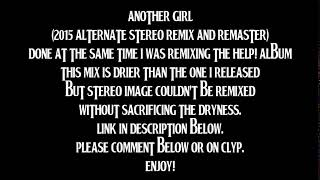Baixar The Beatles - Another Girl (2015 Alternate Stereo Remix & Remaster By TOBM)