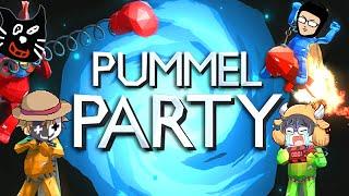 【4人実況】友達が減ると噂の友情崩壊パーティーゲーム『 Pummel Party 』