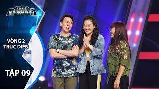 Trí Lực Sánh Đôi Tập 9 - Vòng 2 | Anh Đức tiết lộ Phương Thanh giàu hơn Quốc Thuận nhiều