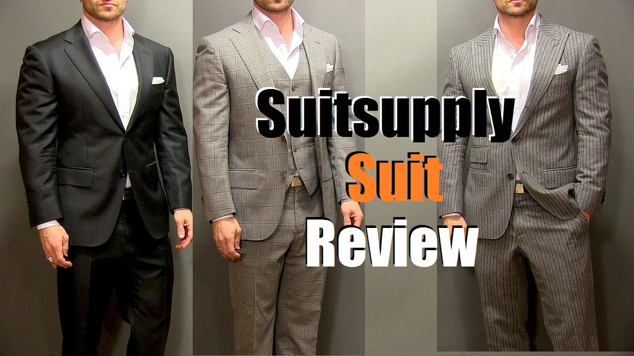 Suitsupply Suit Review - I Am Alpha M