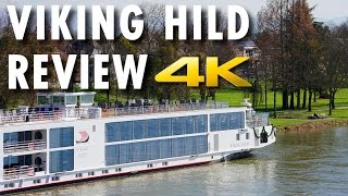 Viking Hild Tour & Review ~ Viking River Cruises ~ Cruise Longship Tour & Review [4K Ultra HD]