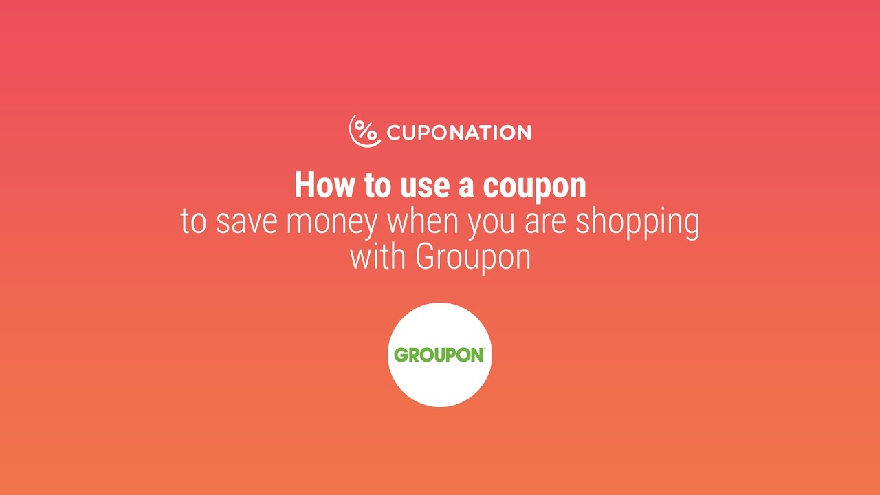 Saving money with Groupon promo codes!