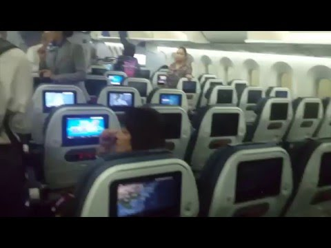 All Nippon Airways NRT-MNL Flight Experience (02/17/16) Boeing 787-8 (JA831A)