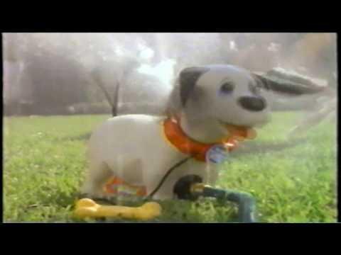 Wilbur The Water Pup Sprinkler Remco Toy TV Commercial