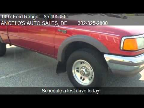 Angelos Auto Sales >> 1997 Ford Ranger XLT SuperCab 4WD - for sale in New Castle, - YouTube