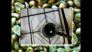 Приготовление зеленого кофе в домашних условиях