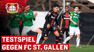 Bayer 04 Leverkusen - FC St. Gallen 3:2 | Testspiel in voller Länge | Trainingslager in La Manga