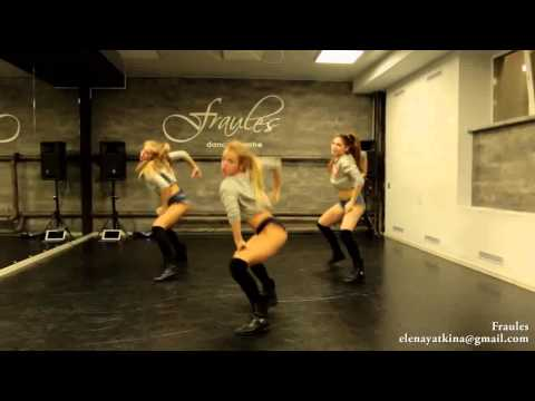 NEW twerk choreo by DHQ Fraules- Travis Porter-Bring it back
