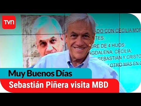 Sebastián Piñera visita Muy Buenos Días | Muy buenos días