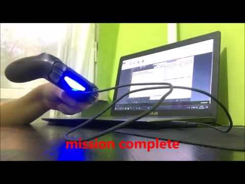 "PS4 Controller ""dualshock4"" Yellow Light Problem Using DS4 On Pc Or Laptop, SOLVED!"